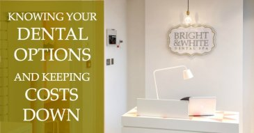 Bright & White Dental Spa Reception
