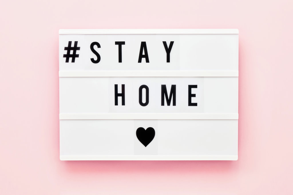 Stay Home, Stay Safe, Coronavirus